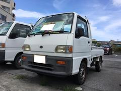 サンバートラックスペシャル 5速マニュアル エアコン 4WD