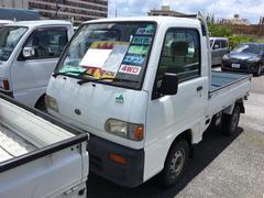 サンバートラックJA 5速マニュアル エアコン 三方開 4WD