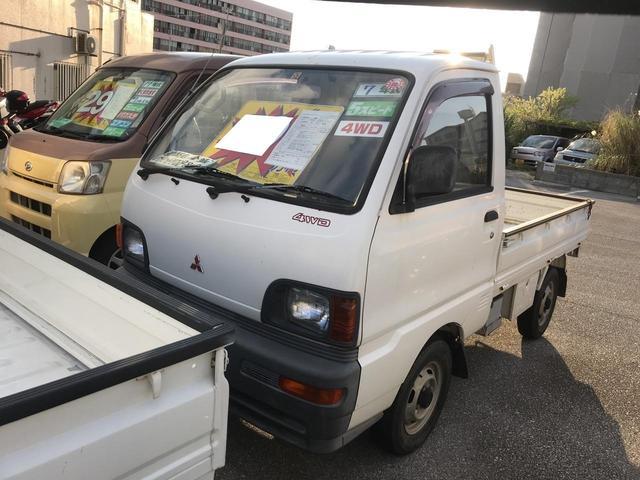 沖縄県の中古車ならミニキャブトラック TD 5速MT 4WD 三方開