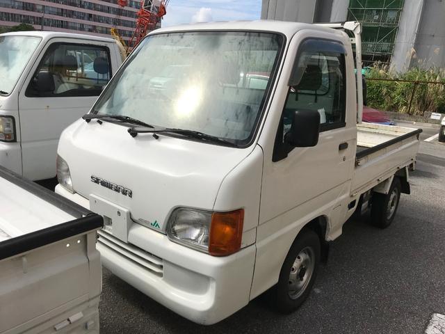 スバル JA 5速MT エアコン 4WD 三方開