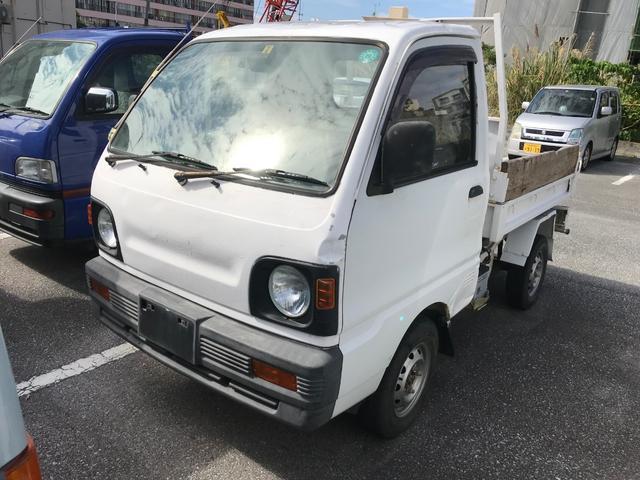 沖縄県の中古車ならミニキャブトラック ダンプ 4速MT パワステ 4WD