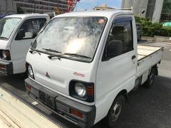 ミニキャブトラック4速MT エアコン 4WD 三方開