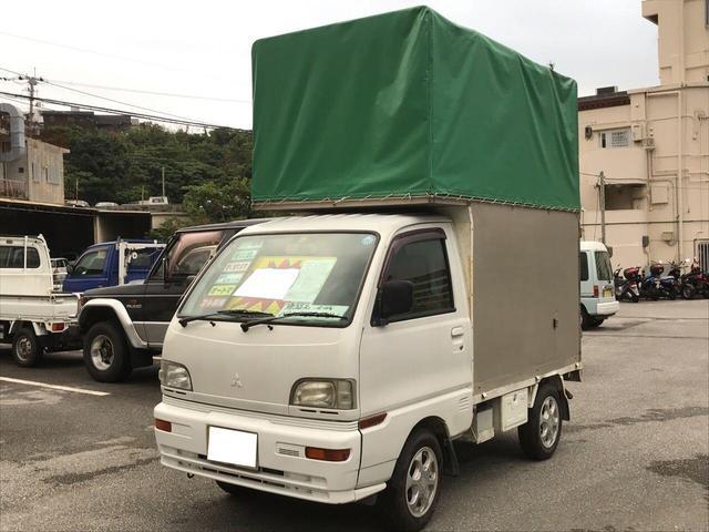 三菱 エアコン パワステ 4WD 幌付き