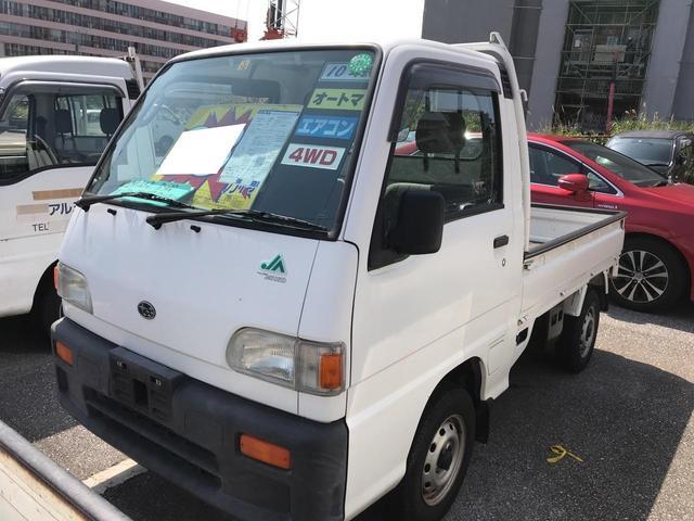 沖縄県の中古車ならサンバートラック JA  オートマ エアコン 4WD