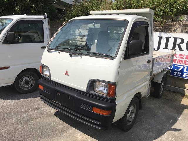 三菱 ダンプ 5速MT エアコン 4WD