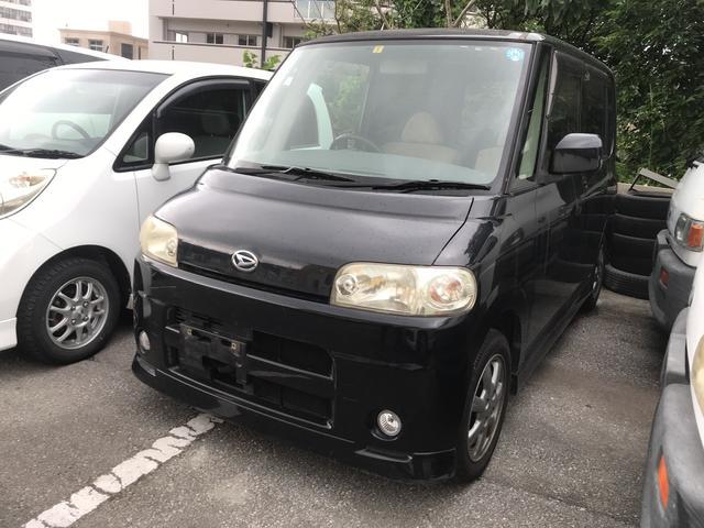 沖縄県の中古車ならタント Xリミテッド ナビ ベンチシート オートエアコン