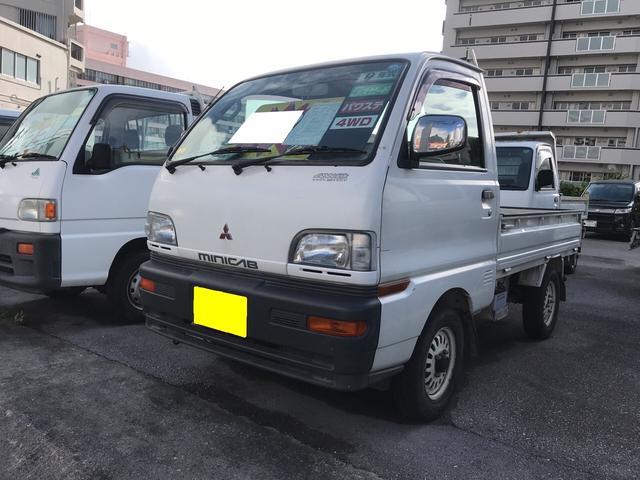 沖縄県の中古車ならミニキャブトラック VX 5速MT パワステ 4WD 三方開