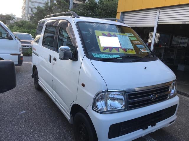 沖縄県の中古車ならアトレー カスタム 5速MT 4WD 両側スライドドア