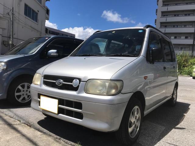 沖縄の中古車 ダイハツ ムーヴ 車両価格 16万円 リ済込 2000(平成12)年 2.3万km シルバー