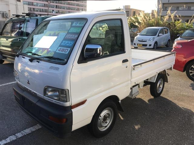 沖縄の中古車 三菱 ミニキャブトラック 車両価格 23万円 リ済込 1997(平成9)年 5.9万km ホワイト