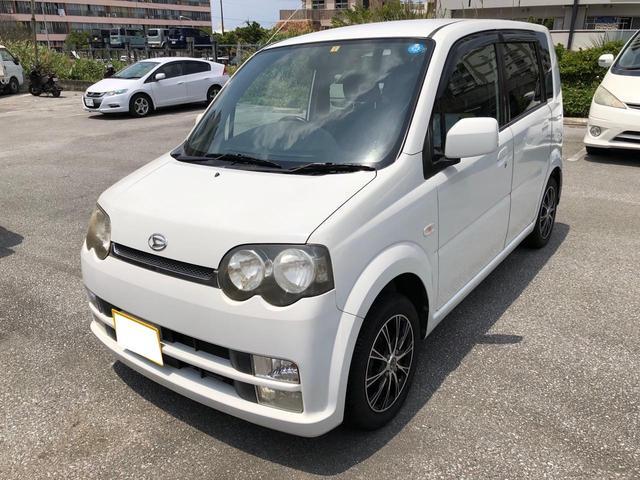 沖縄の中古車 ダイハツ ムーヴ 車両価格 19万円 リ済込 2004(平成16)年 6.6万km ホワイト