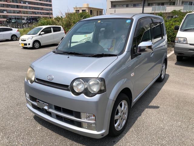 沖縄の中古車 ダイハツ ムーヴ 車両価格 19万円 リ済込 2003(平成15)年 6.5万km シルバー
