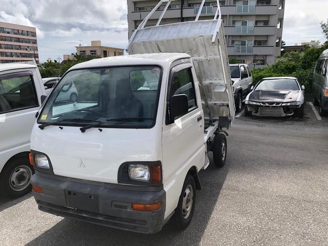 沖縄の中古車 三菱 ミニキャブトラック 車両価格 29万円 リ済込 1997(平成9)年 5.7万km ホワイト