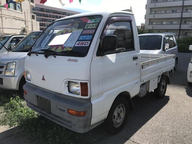 沖縄県の中古車ならミニキャブトラック TL オートマ エアコン パワステ 4WD 三方開