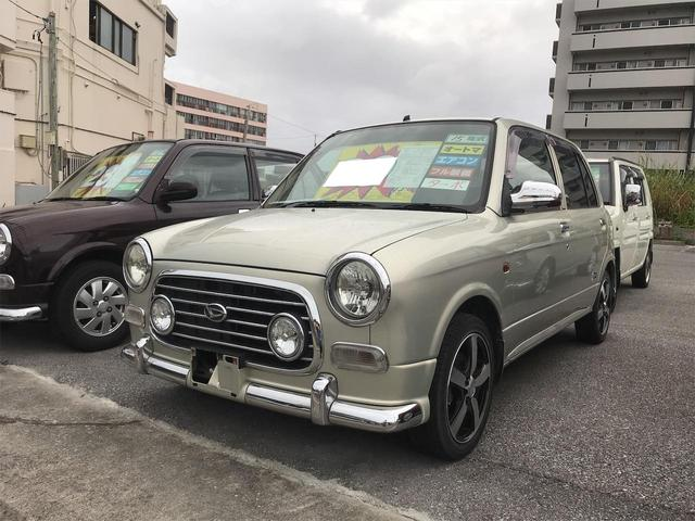 沖縄県浦添市の中古車ならミラジーノ ミニライトスペシャルターボ キーレス フル装備 ターボ 社外アルミ