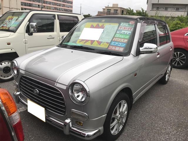 沖縄の中古車 ダイハツ ミラジーノ 車両価格 26万円 リ済込 2000(平成12)年 12.8万km シルバーII