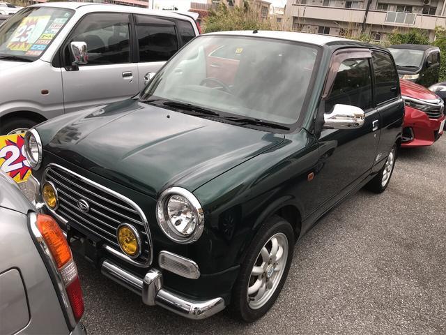 沖縄の中古車 ダイハツ ミラジーノ 車両価格 29万円 リ済込 2000(平成12)年 11.0万km グリーンII