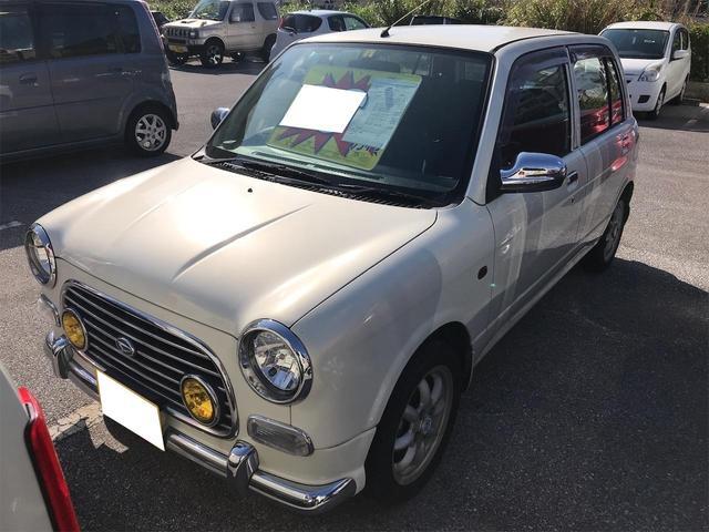 沖縄の中古車 ダイハツ ミラジーノ 車両価格 26万円 リ済込 2001(平成13)年 12.4万km パール