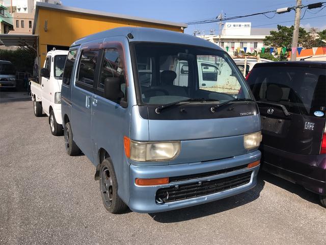 沖縄の中古車 ダイハツ アトレー 車両価格 19万円 リ済込 1997(平成9)年 9.0万km ライトブルーM