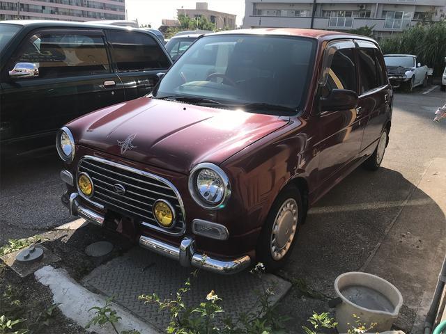 沖縄の中古車 ダイハツ ミラジーノ 車両価格 9万円 リ済込 2000(平成12)年 14.3万km ワイン