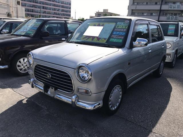 沖縄の中古車 ダイハツ ミラジーノ 車両価格 26万円 リ済込 2000(平成12)年 6.3万km シルバー