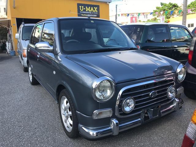 沖縄県の中古車ならミラジーノ ミニライトスペシャルターボ オートマ キーレス CD フル装備 純正アルミ ターボ車