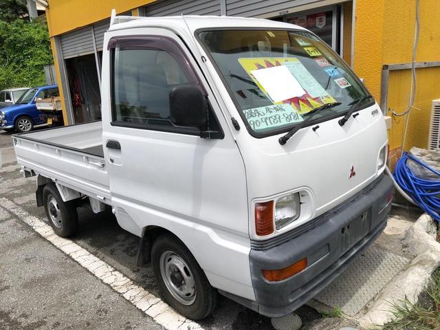 沖縄県浦添市の中古車ならミニキャブトラック  オートマ エアコン パワステ 4WD 三方開