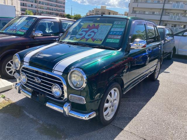 沖縄の中古車 ダイハツ ミラジーノ 車両価格 56万円 リ済込 2002(平成14)年 17.3万km グリーンM