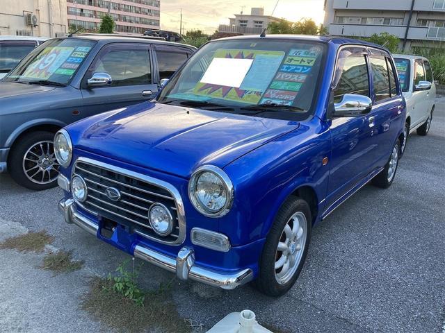 沖縄の中古車 ダイハツ ミラジーノ 車両価格 49万円 リ済込 2004(平成16)年 4.9万km ブルーM