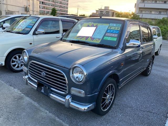 沖縄の中古車 ダイハツ ミラジーノ 車両価格 19万円 リ済込 2003(平成15)年 15.0万km グレーM