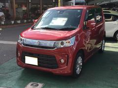 沖縄の中古車 スズキ ワゴンRスティングレー 車両価格 129.6万円 リ済別 平成28年 0.9万K レッド