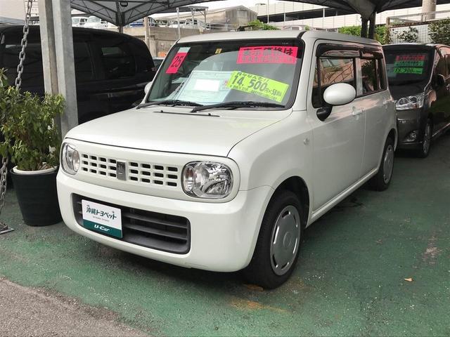 沖縄県の中古車ならアルトラパン G スマートキー ナビTV ベンチシート