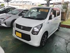 沖縄の中古車 スズキ ワゴンR 車両価格 108万円 リ済別 平成26年 3.9万K パール