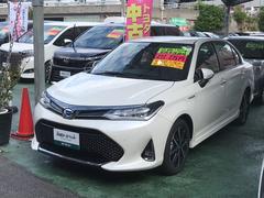沖縄の中古車 トヨタ カローラアクシオ 車両価格 226.8万円 リ済別 平成30年 0.4万K パール