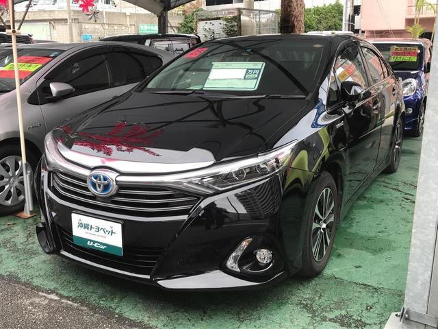 沖縄の中古車 トヨタ SAI 車両価格 169万円 リ済別 2013(平成25)年 2.4万km ブラック