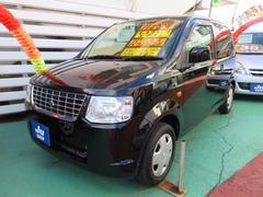 沖縄の中古車 三菱 eKワゴン 車両価格 37万円 リ済込 平成21年 8.6万K ブラックマイカ