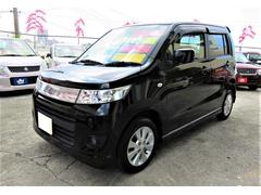 沖縄の中古車 スズキ ワゴンRスティングレー 車両価格 45万円 リ済込 平成22年 8.0万K スパークブラックパール