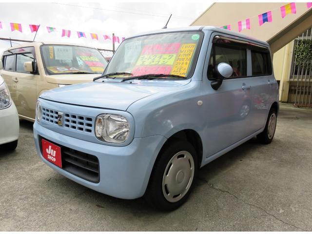 沖縄の中古車 スズキ アルトラパン 車両価格 45万円 リ済込 平成23年 10.7万km エアブルーメタリック