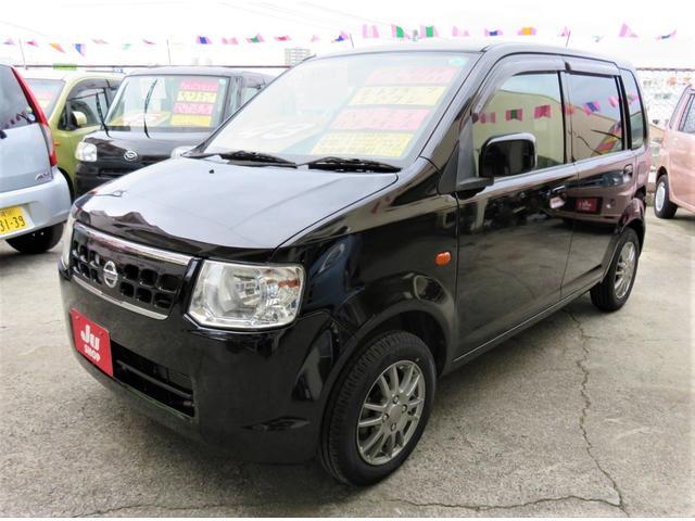 沖縄の中古車 日産 オッティ 車両価格 39万円 リ済込 平成22年 5.6万km ブラックP