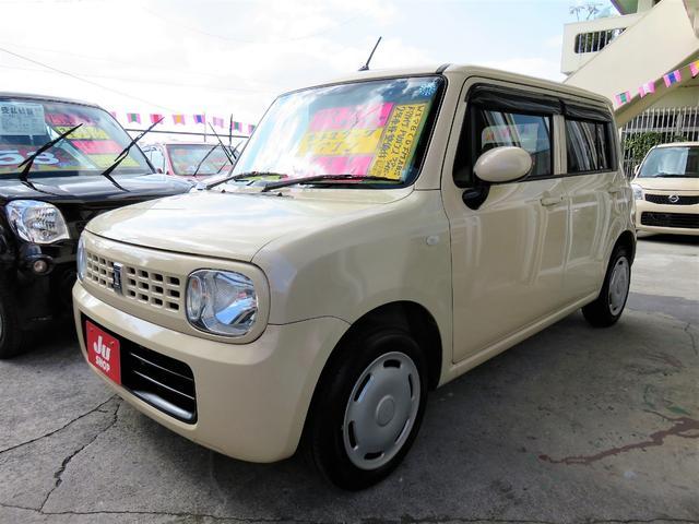 沖縄の中古車 スズキ アルトラパン 車両価格 47万円 リ済込 平成23年 7.9万km ベージュ