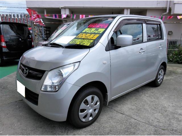 沖縄県の中古車ならAZワゴン XG 5速 キーレス CDFM セキュリティアラーム