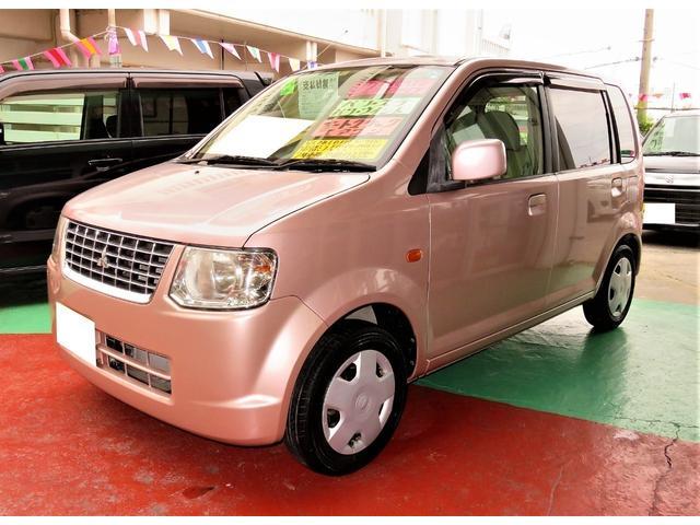 沖縄の中古車 三菱 eKワゴン 車両価格 39万円 リ済込 2010(平成22)年 4.4万km ピンク