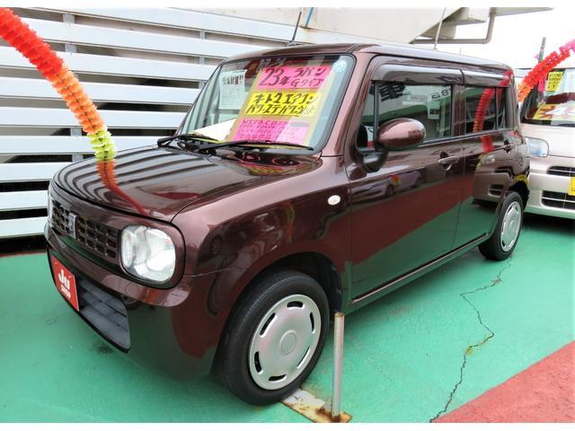 沖縄県宜野湾市の中古車ならアルトラパン G スマートキー プッシュスタート CDFM 2年保証