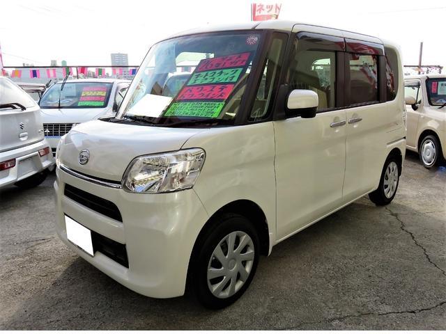 沖縄県宜野湾市の中古車ならタント L 2年保証 ワンオーナー アイドリングストップ