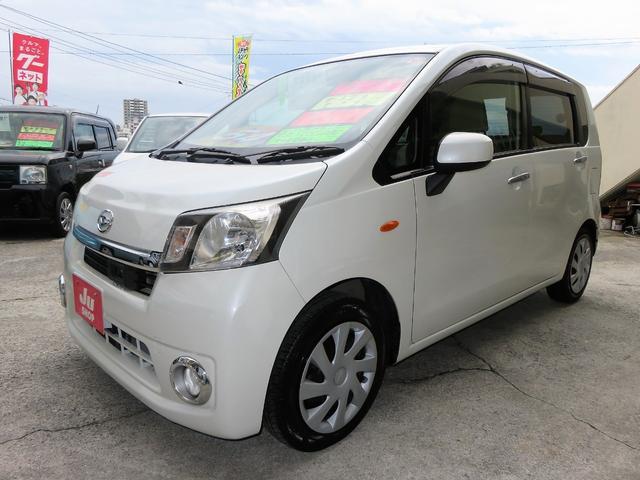 沖縄の中古車 ダイハツ ムーヴ 車両価格 44万円 リ済込 2013(平成25)年 8.8万km パールホワイトIII