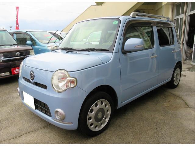 沖縄県宜野湾市の中古車ならミラココア ココアプラスX キーフリー インテリキー CDFM ルーフレール フォグランプ 1年保証