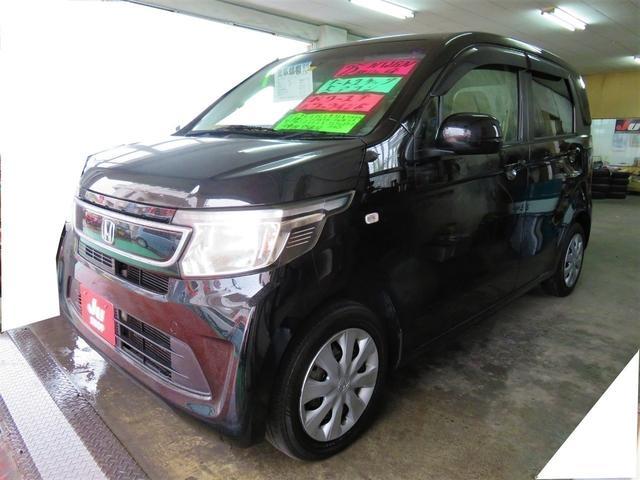 沖縄の中古車 ホンダ N-WGN 車両価格 58万円 リ済込 2013(平成25)年 9.5万km スマートブラック