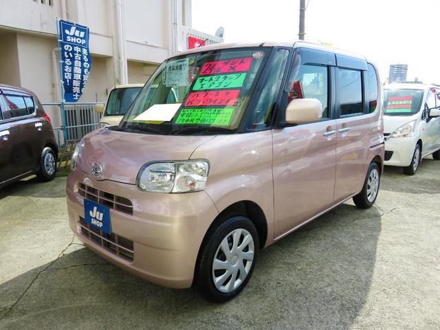 沖縄県の中古車ならタント X ワンオーナー スマートキー パワースライドドア エコアイドル 1年保証