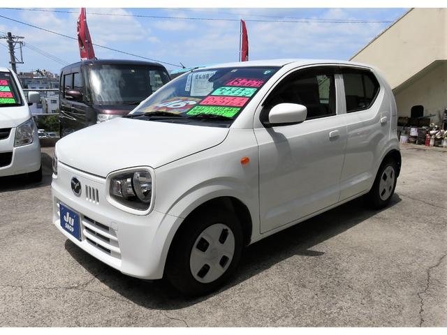 沖縄県宜野湾市の中古車ならキャロル GS キーレス レーダーブレーキサポート アイドリングストップ CDFM 1年保証