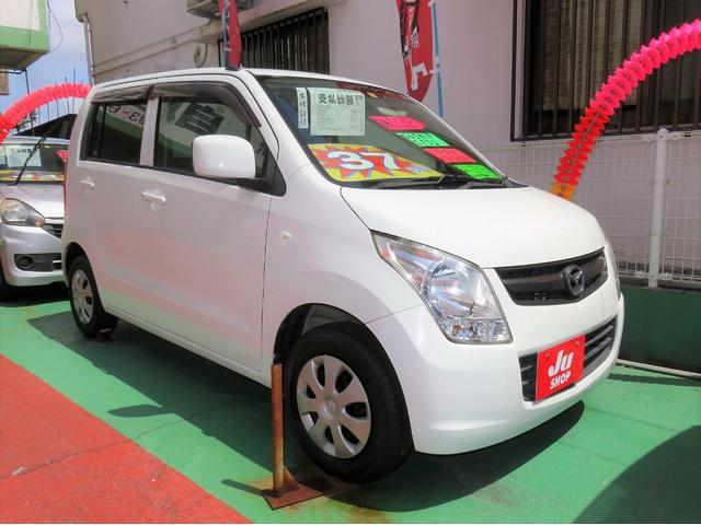 沖縄県宜野湾市の中古車ならAZワゴン XG キーレス ETC CDFM 電格ミラー セキュリティアラーム 1年保証